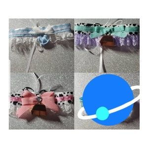 Chokers collars lace